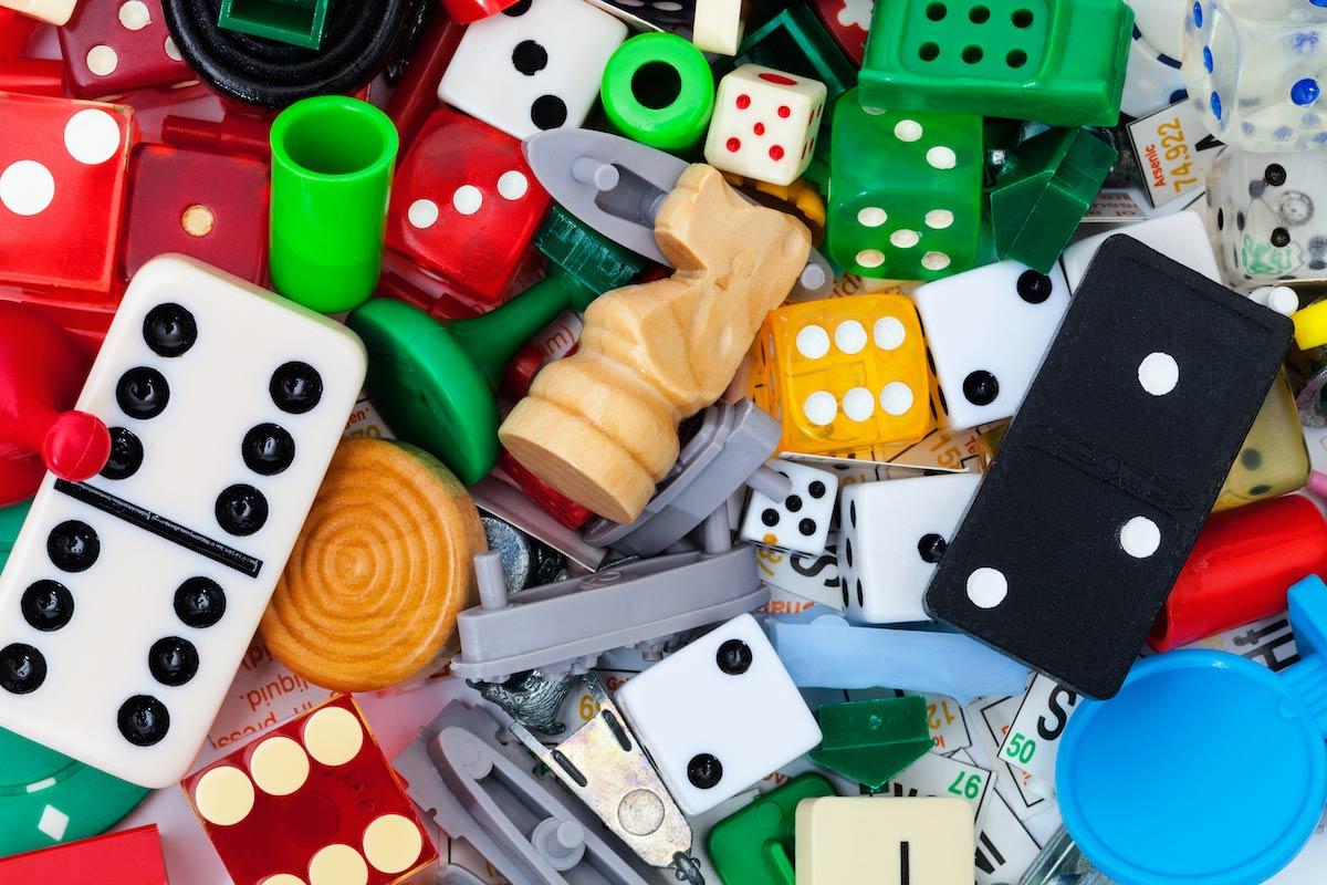 dice and board games